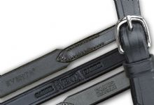 Sabre Hookstud Fastening Reins with German Silver Buckle In Hand